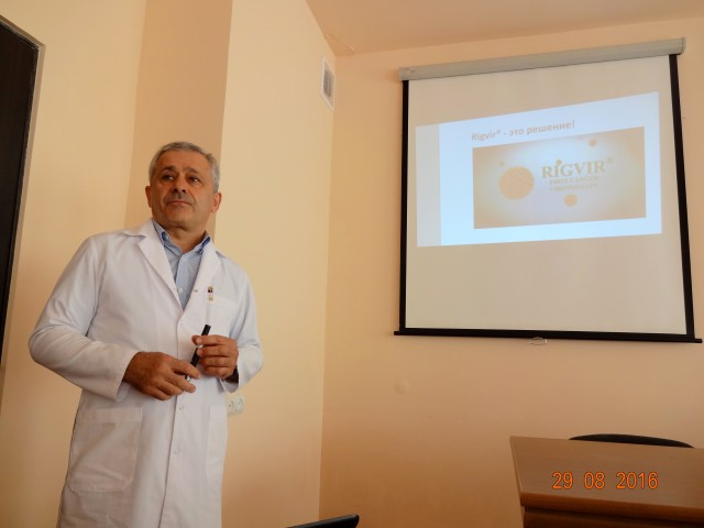 Growing interest about virotherapy in Armenia
